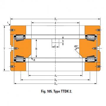 Bearing T770FA Thrust Race Single