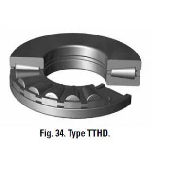 Bearing T107 T107W