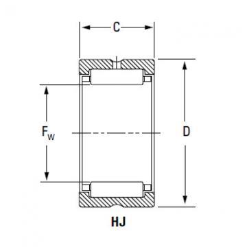 Bearing IR-506032 HJ-607632