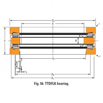Bearing Thrust race single d-3333-c