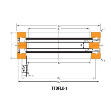 Bearing Thrust race single T12100