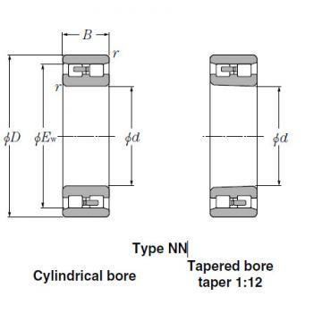 Bearings Tapered Roller Bearings NN3036K